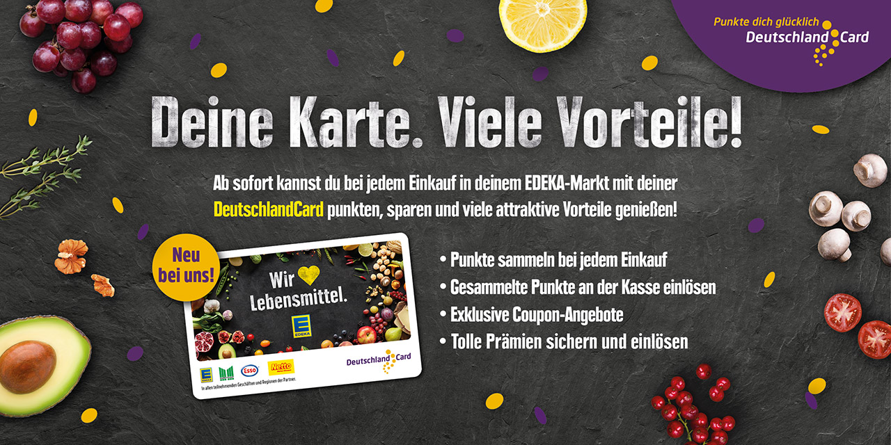 DeutschlandCard - Deine Karte. Viele Vorteile!